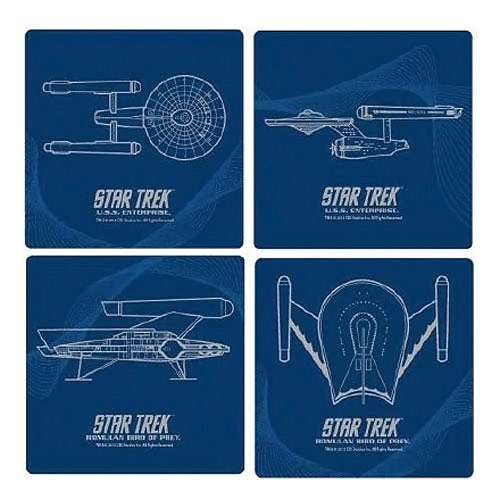 Star Trek Glass Coasters