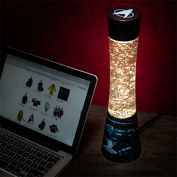Star Trek Glitter Lamp