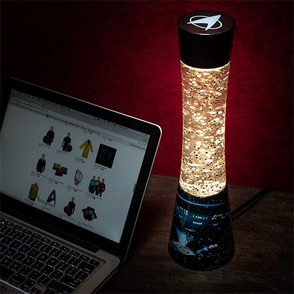 Star Trek Glitter Lamp