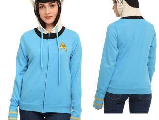 Star Trek I Am Spock Girls Hoodie