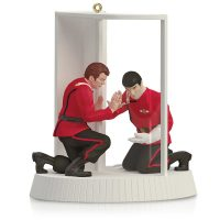 Star Trek II The Wrath of Khan Mr Spock and Captain Kirk The Needs of the Many Ornament