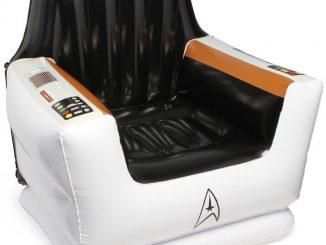 Star Trek Inflatable Captain Chair