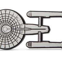 Star Trek Injection Molded Emblem