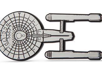 Star Trek Injection Molded Emblem