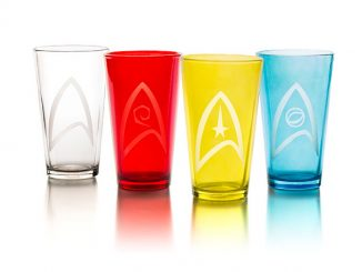 Star Trek Insignia 4 Pack Pint Glass Set