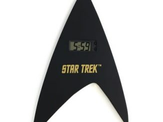 Star Trek Insignia Digital Clock