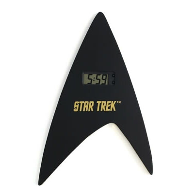 Star Trek Insignia Digital Clock