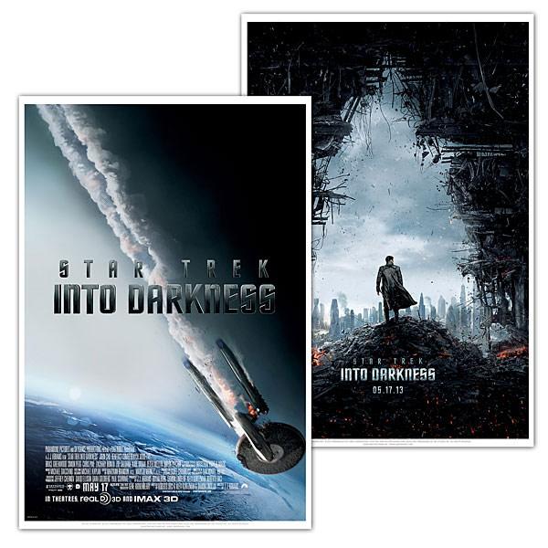 Star Trek Into Darkness Movie Posters