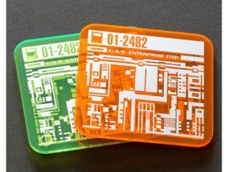 Star Trek Isolinear Chip Coaster 2-Pack