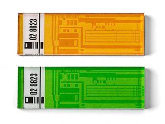 Star Trek Isolinear Chip Magnets