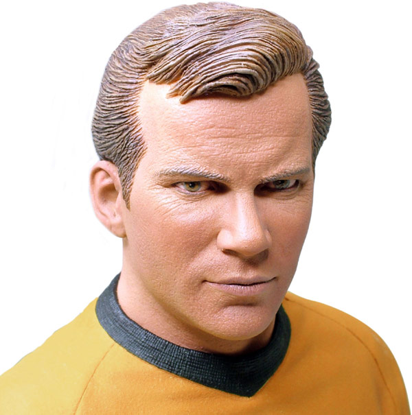 Star Trek James Kirk Masterpiece Collection Bust