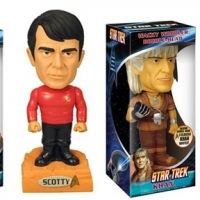Star Trek Kahn Talking Wacky wobbler