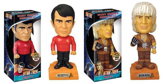 Star Trek Kahn Talking Wacky wobbler