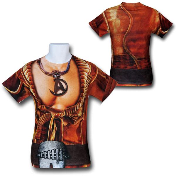 Star Trek Khan Costume Sublimated Shirt