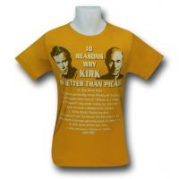 Star Trek Kirk Is Better 30 Single TShirt