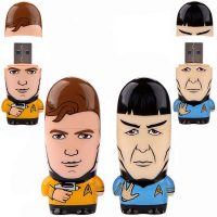 Star Trek Kirk & Spock Mimobot USB Flash Drive