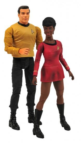 Star Trek Kirk and Uhura