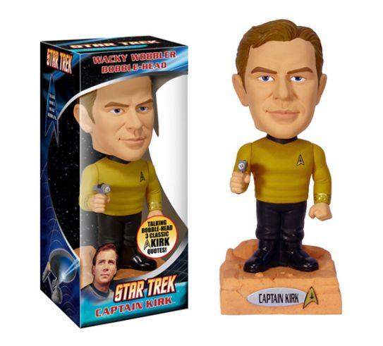 Star Trek Kirk talking Wacky Wobbler