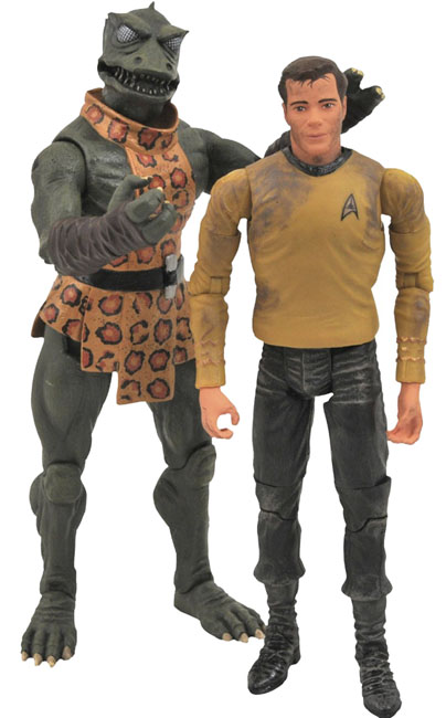 Star Trek Kirk vs Gorn Action Figure Two Pack