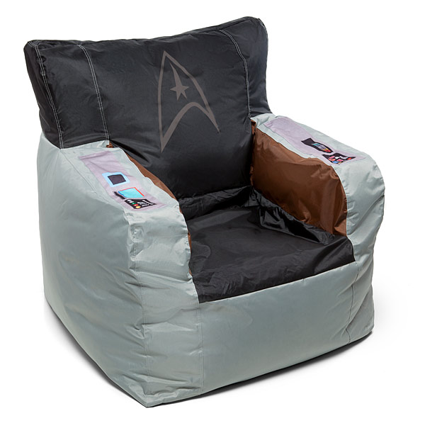 Star Trek Kirks Command Chair Bean Bag Cover