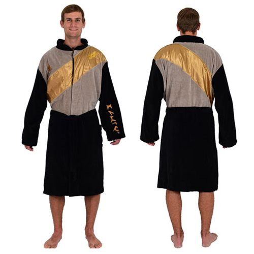 Klingon Bathrobe is for warriors who want to be warm after a shower ...