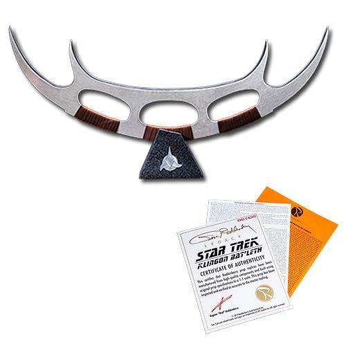 Star Trek Klingon Batleth Scale Prop Replica