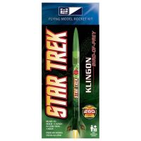 Star Trek Klingon Bird-of-Prey 20-Inch Launching Rocket Model Kit
