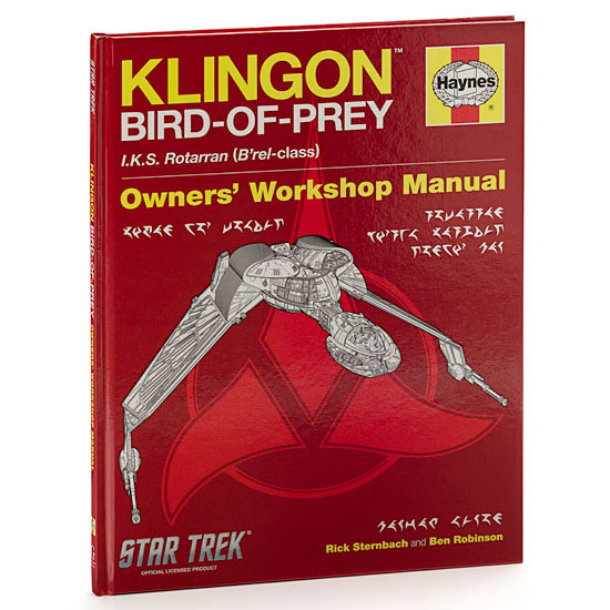 Star Trek Klingon Bird-of-Prey Haynes Manual