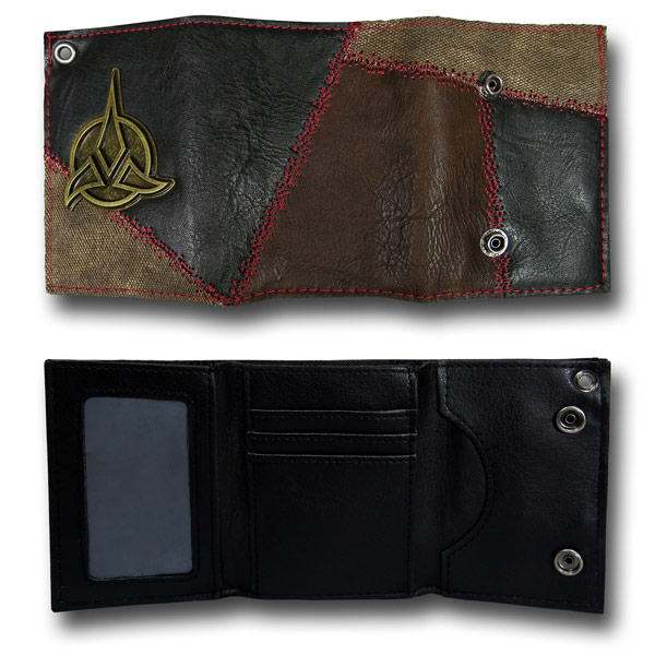 Star Trek Klingon Wallet with Chain