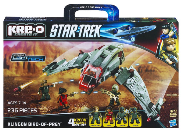 Star Trek KreO Klingon Bird of Prey Set