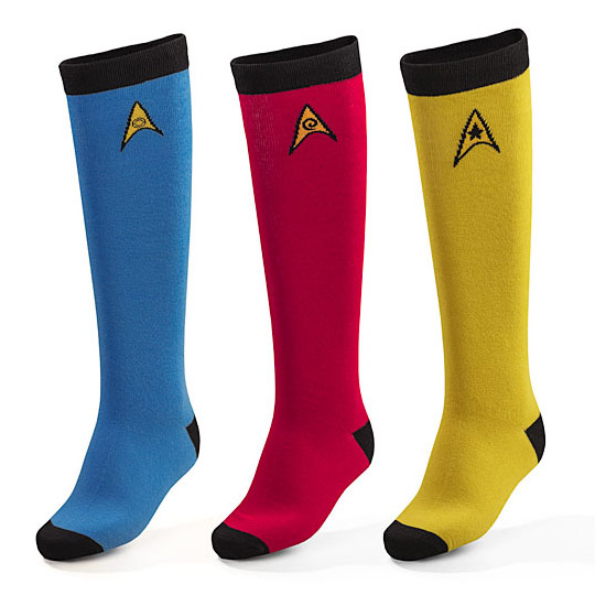 Star Trek Ladies Knee High Socks