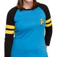 Star Trek Ladies Raglan