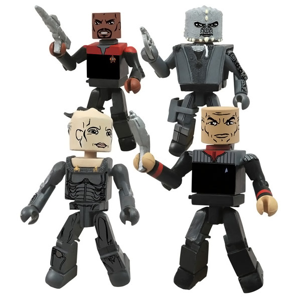 Star Trek Legacy Minimate Series 1
