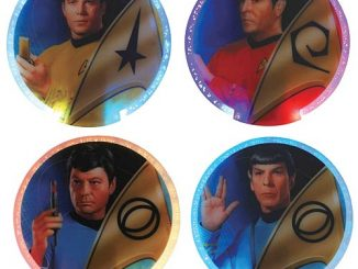 Star Trek Lighted Coasters 4-Pack