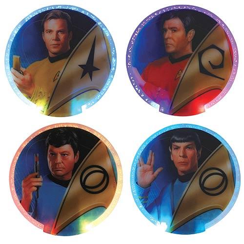 Star Trek Lighted Coasters 4-Pack