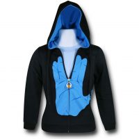 Star Trek Live Long And Prosper Hoodie