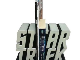 Star Trek Logo Bookend Statues