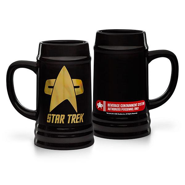 Star Trek Logo Stein