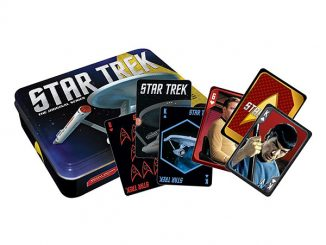 Star Trek Matchbox Playing Card Set