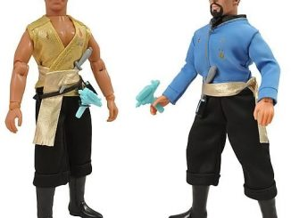 Star Trek Mirror Universe Retro Cloth Action Figure Set