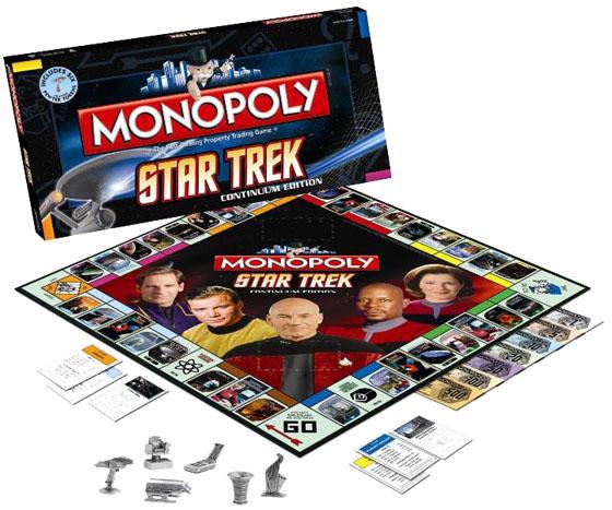 Star Trek Monopoly Board Game