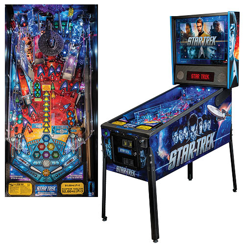 Star Trek Movie Full-Size Premium Pinball Machine