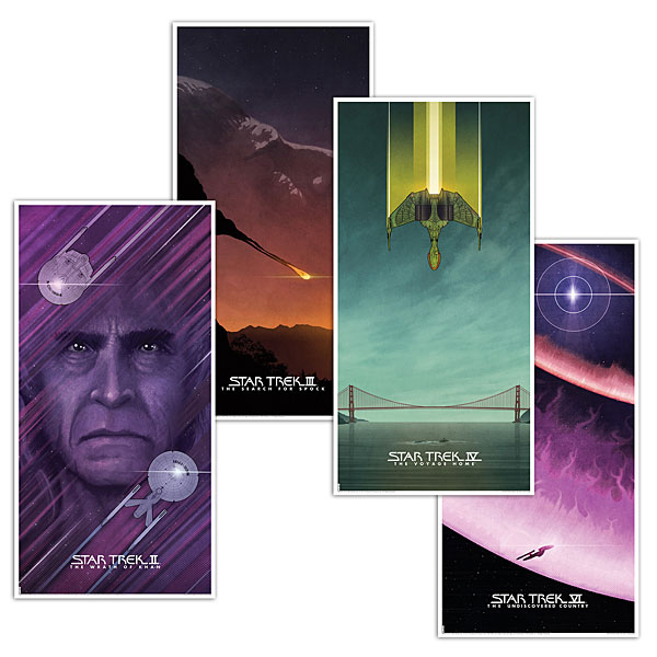 Star Trek Movie Prints