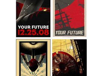 Star Trek Movie Retro Poster Series 1 Set