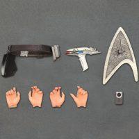 Star Trek Movies Captain Kirk Play Arts Kai Action Figure Accessories