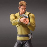 Star Trek Movies Captain Kirk Play Arts Kai Action Figure Phaser