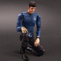 Star Trek Movies Mr Spock Play Arts Kai Action Figure Kneeling