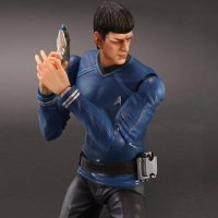 Star Trek Movies Mr Spock Play Arts Kai Action Figure Phaser