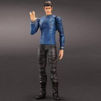 Star Trek Movies Mr Spock Play Arts Kai Action Figure Vulcan Salute