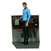Star Trek Mr Spock With Science Console Statue